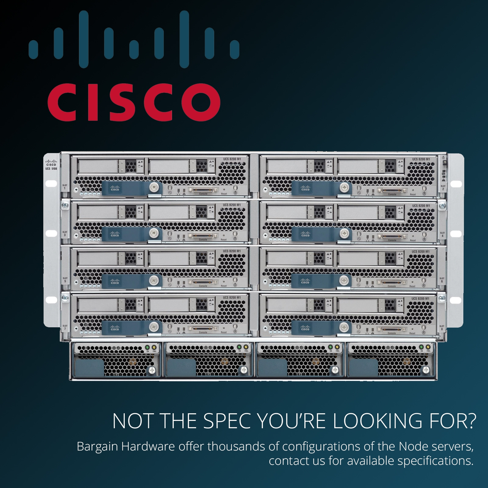 Details about Cisco UCS 5108 Node Server 8x B200-M3 Blades 16x E5-2670 Xeon  8-Core 768GB RAM