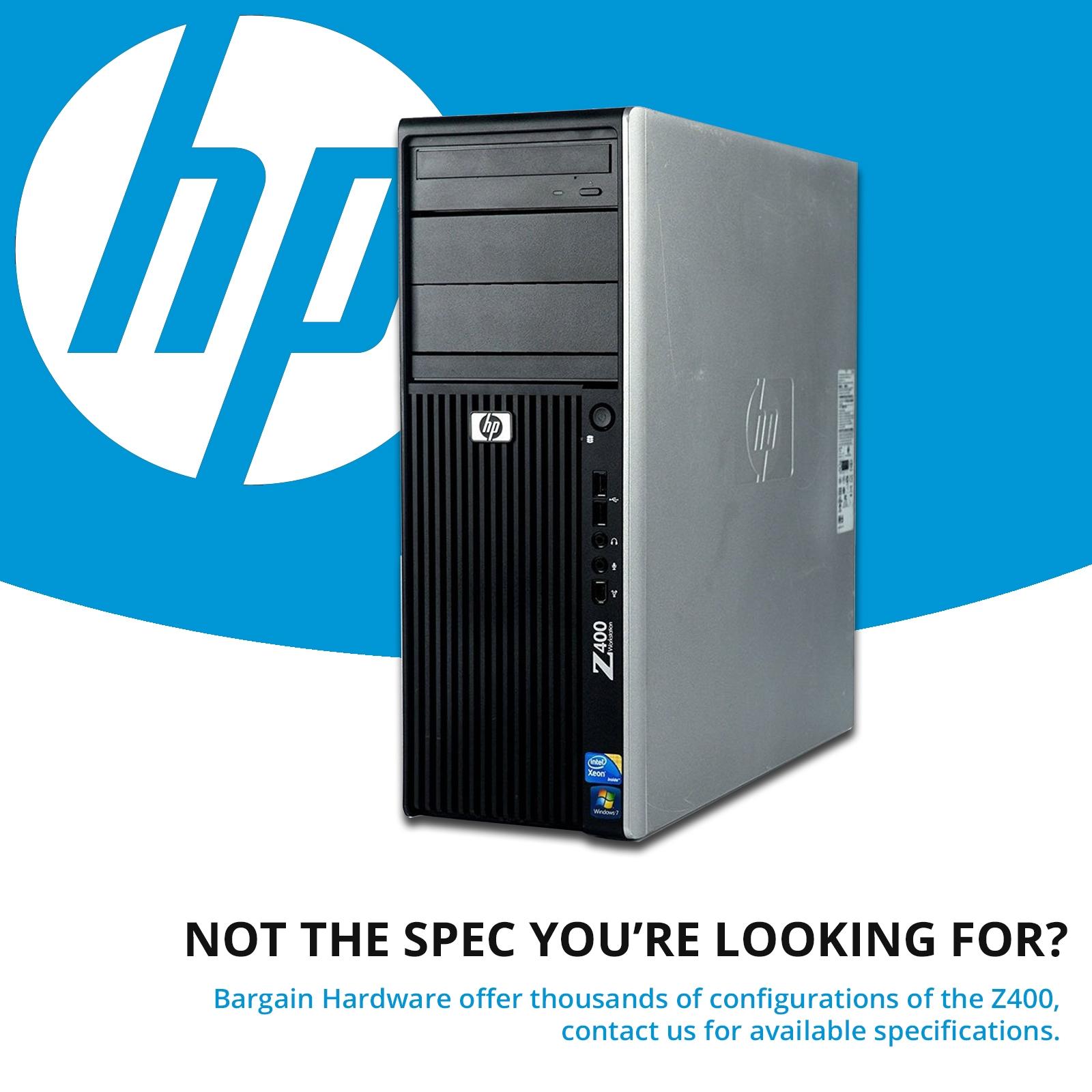 hp z400 workstation intel xeon hex 6 core quadro graphics