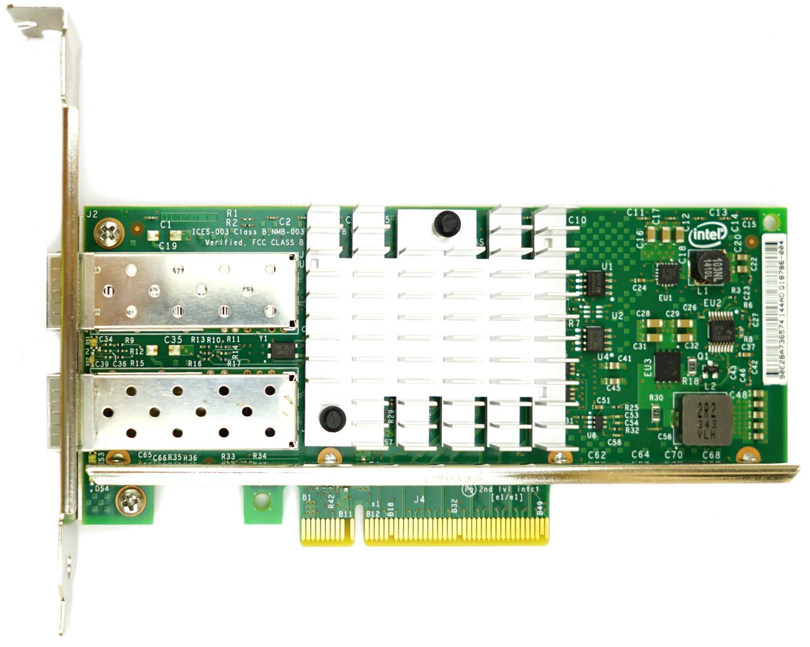Network Interface Card NIC Dell U810N Dual Port DA2 10GB SFP