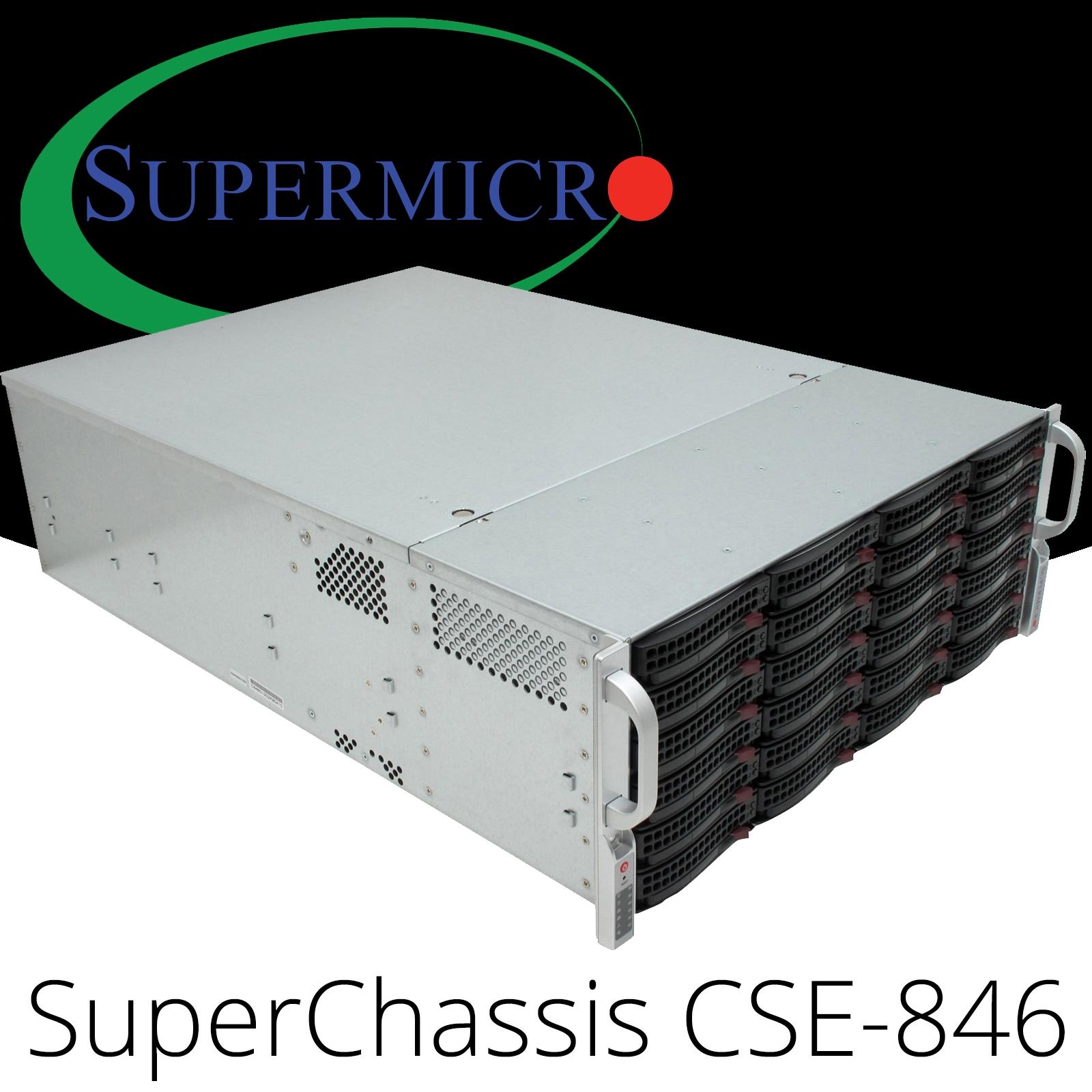 Details about SuperMicro CSE-846 SuperChassis X8DAH+-F 4U Cloud Storage  Rack Server CTO Series