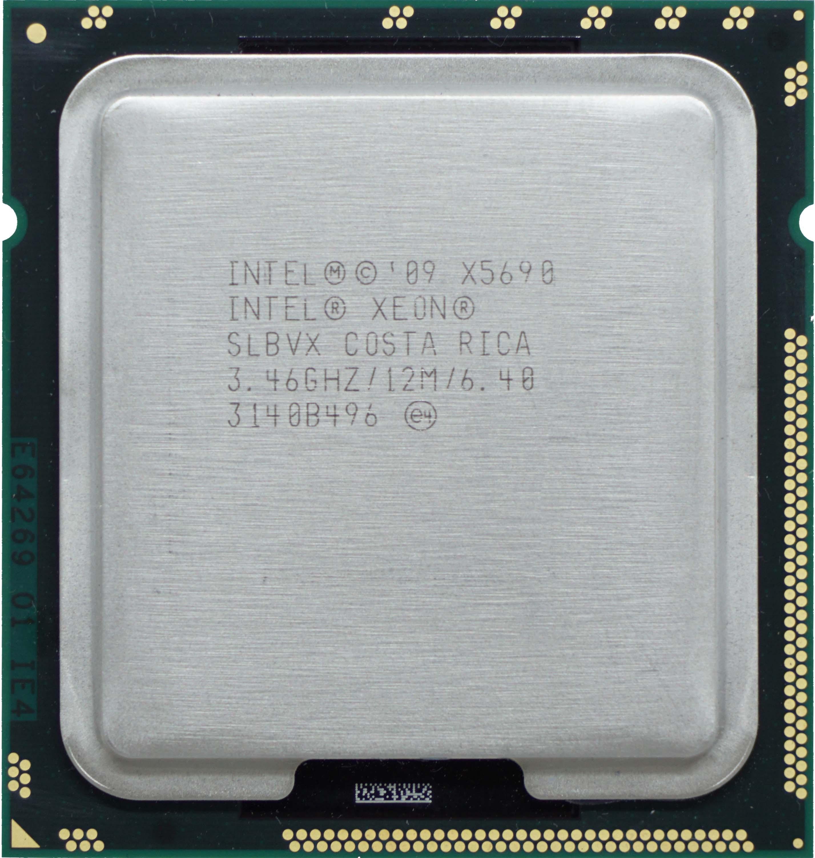 Intel Xeon X5690 (SLBVX) 3 46Ghz Hexa (6) Core LGA1366 130W CPU