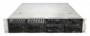 "SuperMicro CSE-825-7 X8DTN+ Rev 2.0 2U 8 x 3.5"" (LFF)"