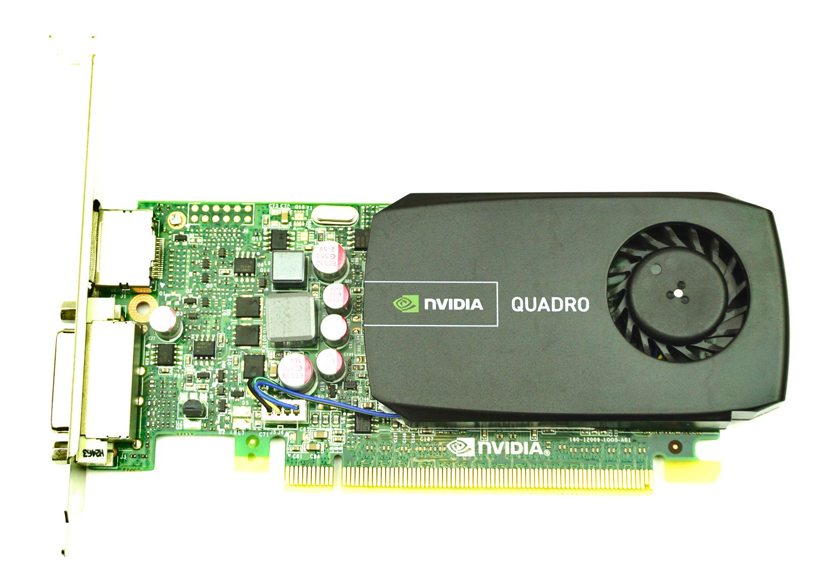 Nvidia Quadro 600 Black 1gb Ddr3 Pcie X16 Fh Vcq600v2
