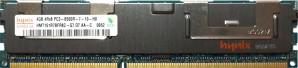 Hynix - 4GB PC3-8500R (DDR3-1066Mhz, 4RX8)