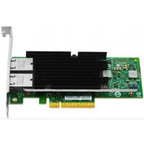 Dell X540-T2 Dual Port - 10GbE RJ45 Full Height PCIe-x8 CNA