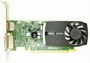 HP nVidia Quadro 400 - 512MB DDR3 PCIe-x16 FH