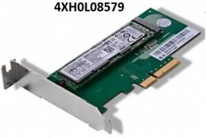 Lenovo ThinkStation M.2 NVMe to PCIe-x4 LP Converter M-Key