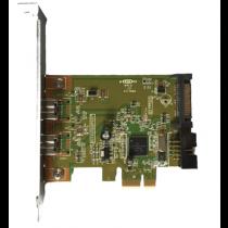 Firewire 1394b Dual Port - PCIe x1 FH
