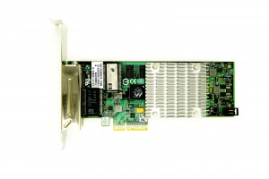 HP NC375T Quad Port - 1GbE RJ45 Full Height PCIe-x4 Ethernet