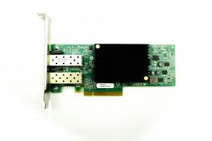 Emulex OCe10102-FX Dual Port - 10GbE SFP Full Height PCIe-x8 CNA