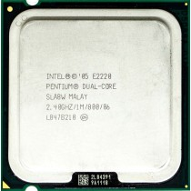 Intel Pentium E2220 (SLA8W) 2.40Ghz Dual (2) Core LGA775 65W CPU