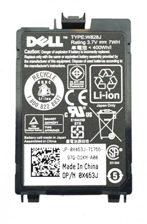 Dell PERC 5/i, 6/i M610, M710, M910 RAID Battery