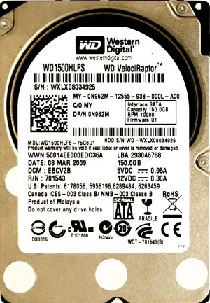 Dell (N962M) 150GB SATA II (SFF) 3Gb/s 10K HDD