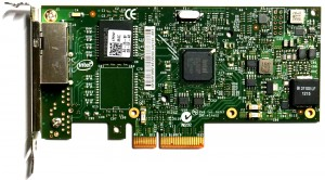 Dell Intel I350-T2 Dual Port - 1GbE RJ45 Low Profile PCIe-x4 Ethernet