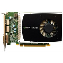 HP nVidia Quadro 2000 Silver - 1GB GDDR5 PCIe-x16 FH