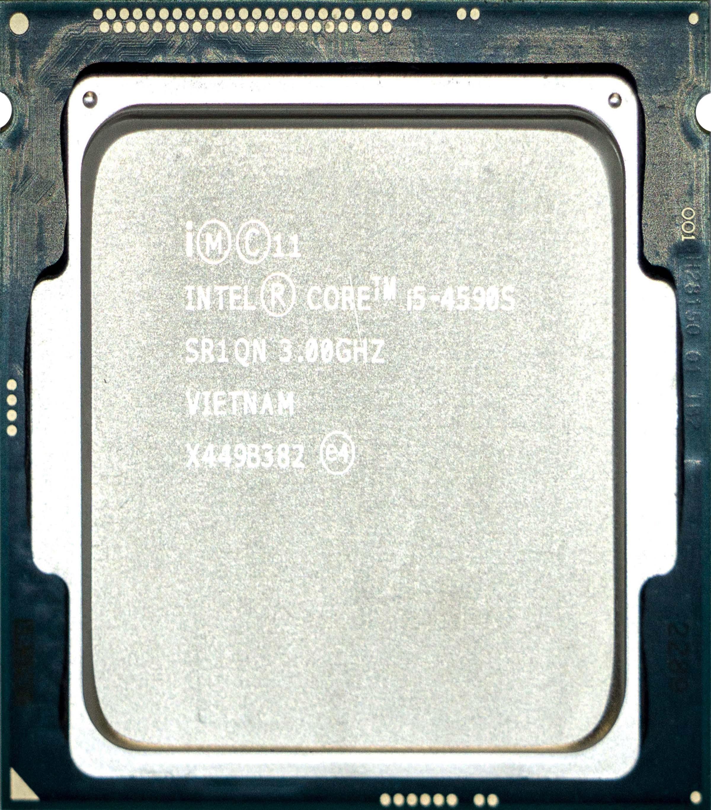 Intel Core i5-4590S (SR1QN) 3 00Ghz Quad (4) Core LGA1150 65W CPU