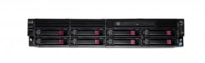 "HP ProLiant DL180 G6 8x 3.5"" - Front"