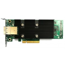 Dell LSI SAS3008 Dual Port -  12Gbps SAS HD PCIe-x8 Low Profile External HBA
