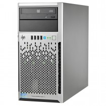 "HP ML310e Gen8 4x 3.5"" (LFF) Hot Swap Tower Server - Front"