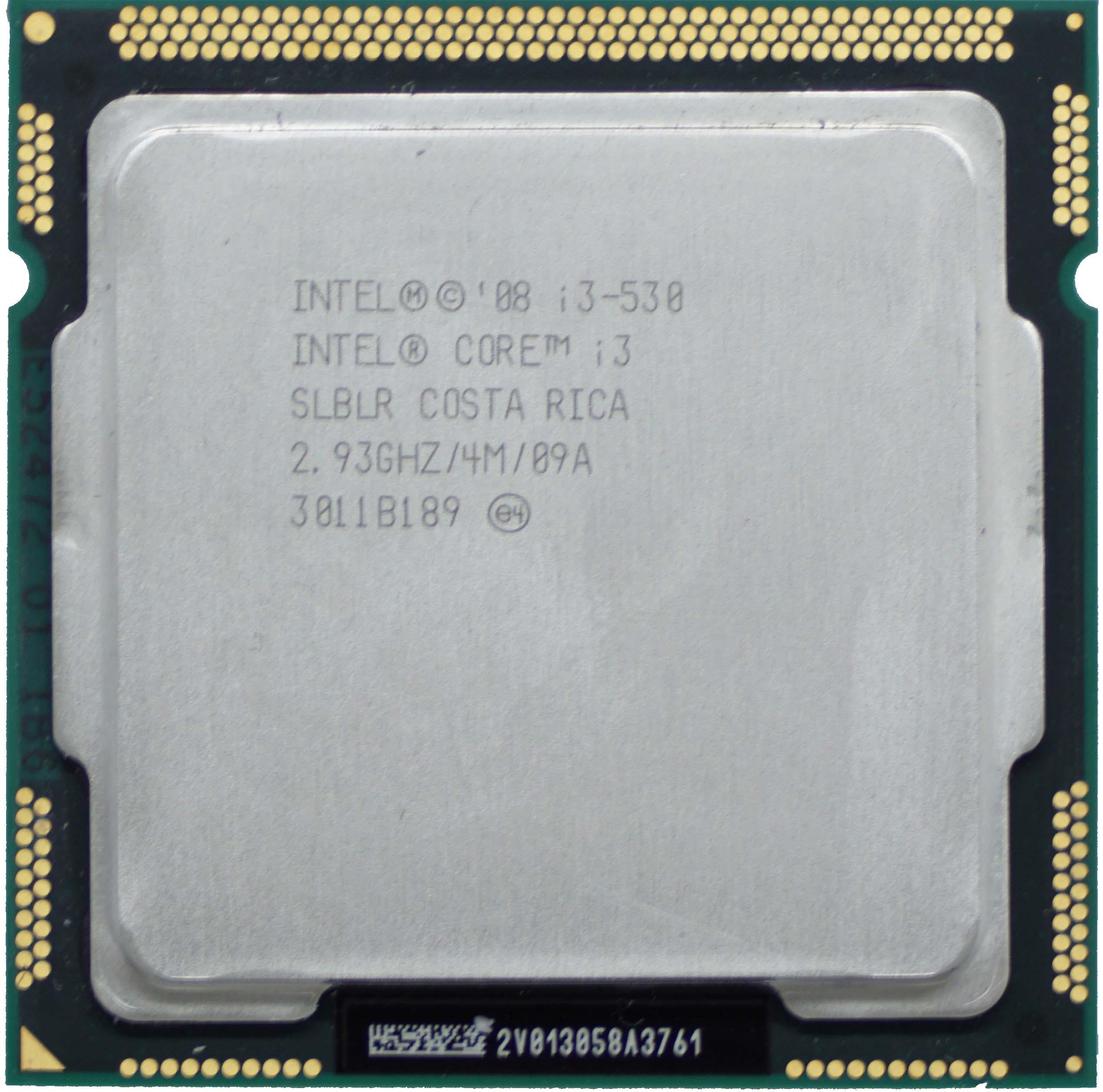 Intel Core i3-530 (SLBLR) 2 93Ghz Dual (2) Core LGA1156 73W CPU