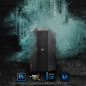 High-End Photo Editing Workstation