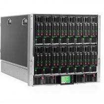 Configured HPE BladeSystem C7000 (16x BL460c G8, 192-Cores, 256GB RAM)
