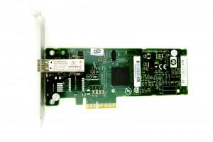 HP NC373F Single Port - 1GbE SFP Full Height PCIe-x4 Ethernet