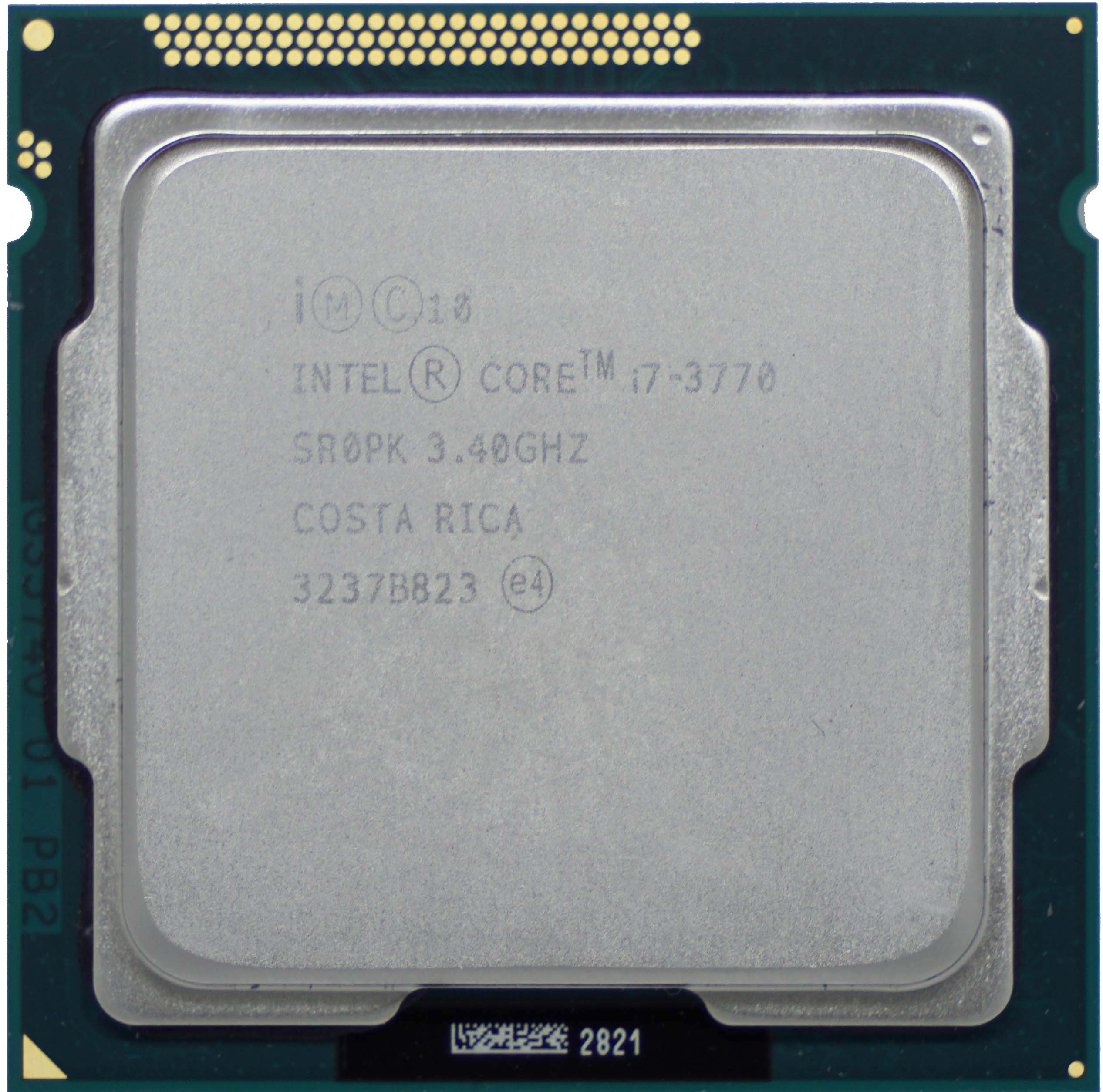 Intel Core i7-3770 (SR0PK) 3 40Ghz Quad (4) Core LGA1155 77W CPU