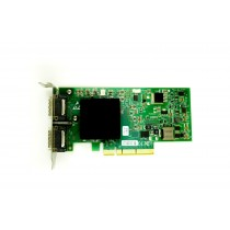 Voltaire 500EX-D Dual Port - 10GbE DDR Low Profile PCIe-x8 HCA