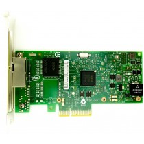 Dell Intel I350-T2 Dual Port - 1GbE RJ45 Full Height PCIe-x4 Ethernet