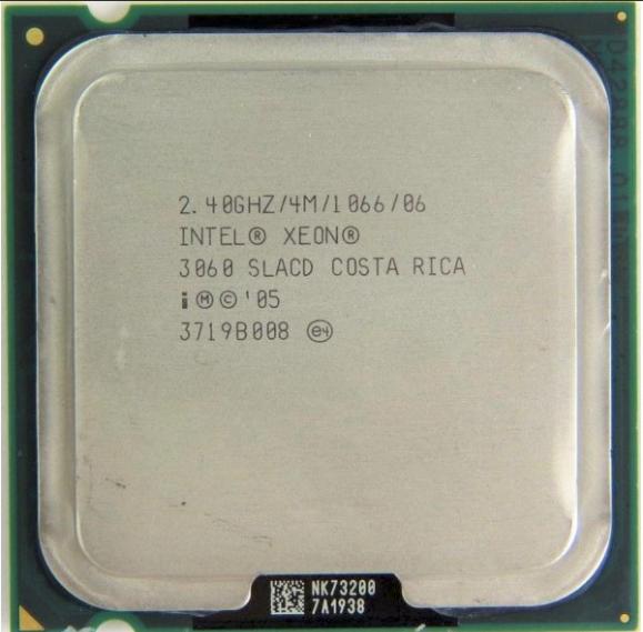 Intel Xeon 3060 (SLACD) 2.40Ghz Dual (2) Core LGA775 65W CPU
