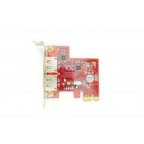 Addonics ADSA6GPX1-2E Dual Port - LP PCIe-x4 eSATA Controller
