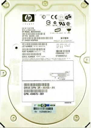 HP (356910-009) 300GB SCSI - 80 Pin (LFF) 10K in SCSI Hot-Swap Caddy