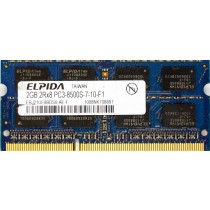 Unbranded - 2GB PC3-8500S (DDR3-1066Mhz, 2RX8)