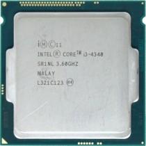 Intel Core i3-4340 (SR1NL) 3.60Ghz Dual (2) Core LGA1150 54W CPU
