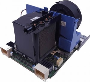Dell Precision T7500 2nd CPU Riser Board inc Fan & Heatsink