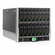 Configured HPE BladeSystem C7000 (16x BL460c G8, 96-Cores, 128GB RAM)