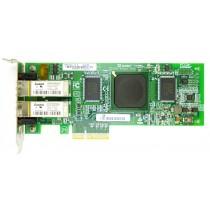 Qlogic QLE2462 Dual Port - 4Gbps SFP Low Profile PCIe-x4 HBA