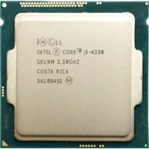 Intel Core i3-4330 (SR1NM) 3.50Ghz Dual (2) Core LGA1150 54W CPU
