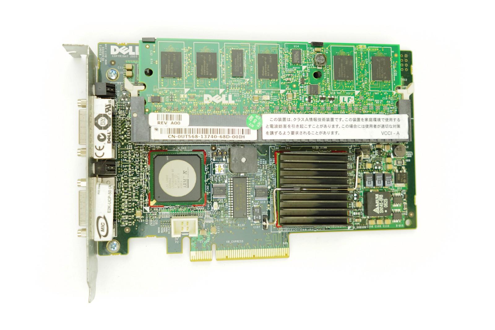 Dell PERC 5/e 9G 256MB - FH PCIe-x8 RAID Controller