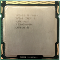 Intel Core i5-660 (SLBTK) 3.33Ghz Dual (2) Core LGA1156 73W CPU