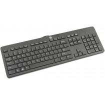 HP Business Slimline - UK Keyboard (Black, USB) New