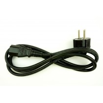 EU Plug to C13 (Kettle Lead) Power Cable