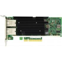 Dell X540-T2 Dual Port - 10GbE RJ45 Low Profile PCIe-x8 CNA