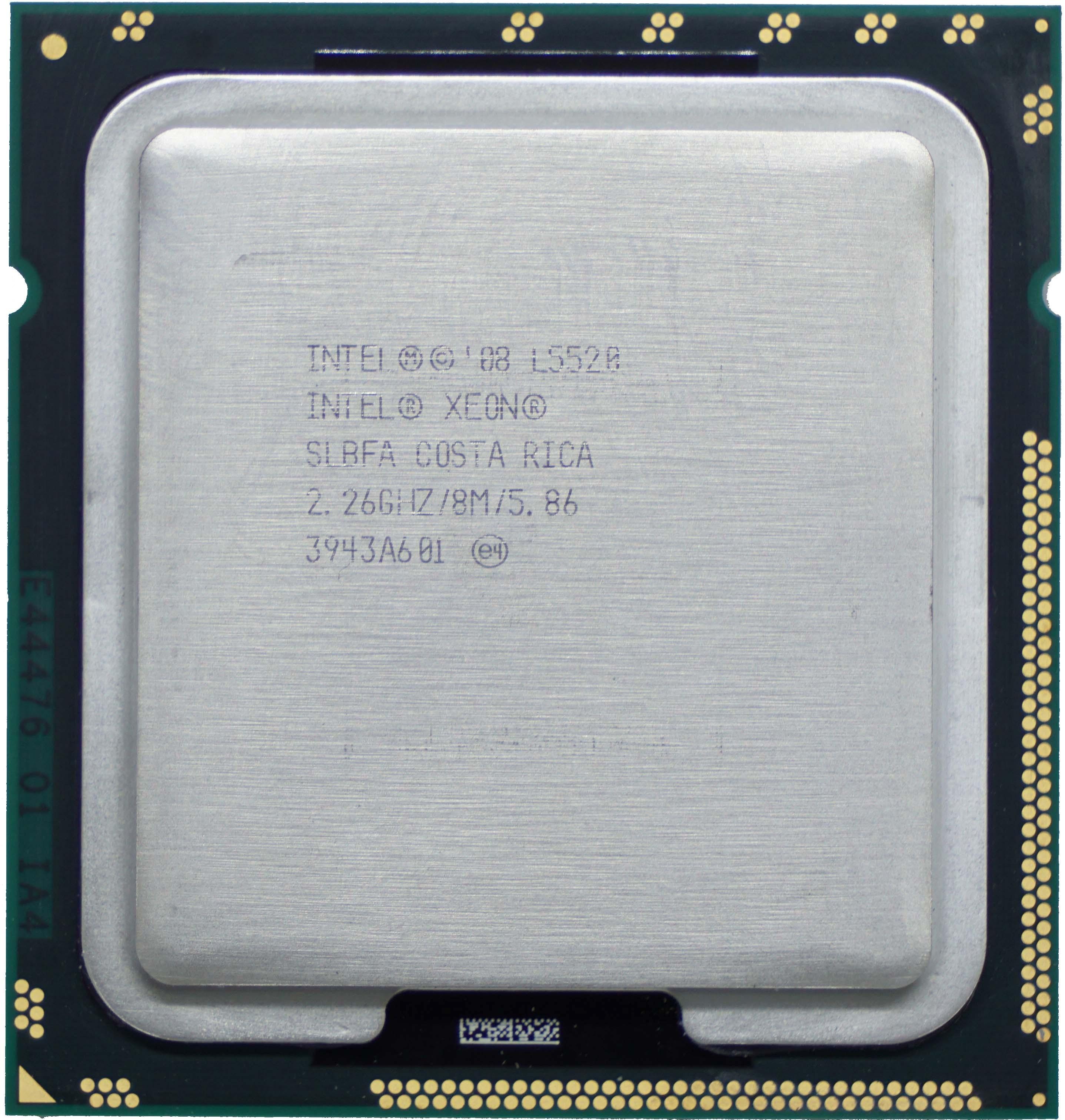 Intel Xeon L5520 (SLBFA) 2 26Ghz Quad (4) Core LGA1366 60W CPU