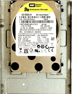 IBM (67Y2546) 150GB SATA III (SFF) 6Gb/s 10K HDD