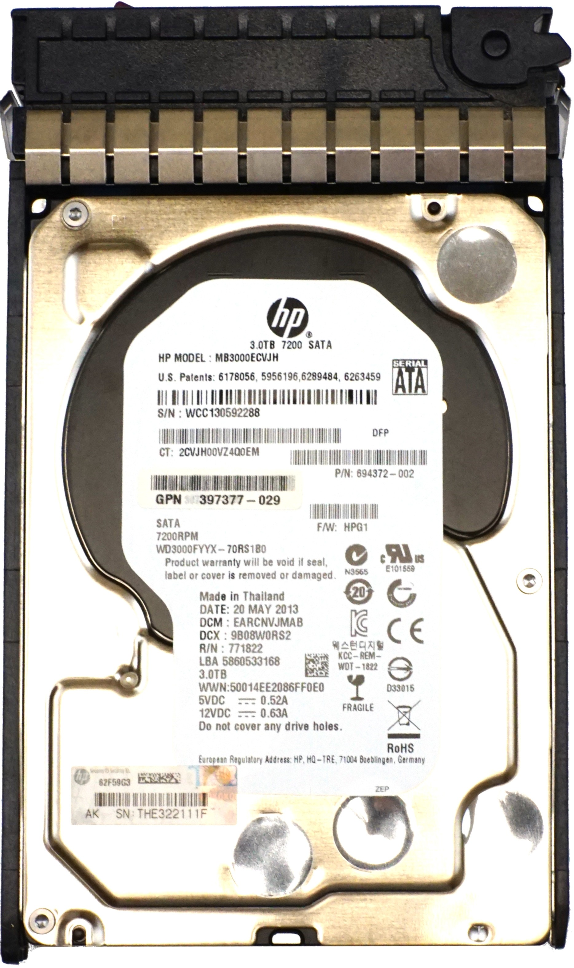 hp headquarters address and phone number