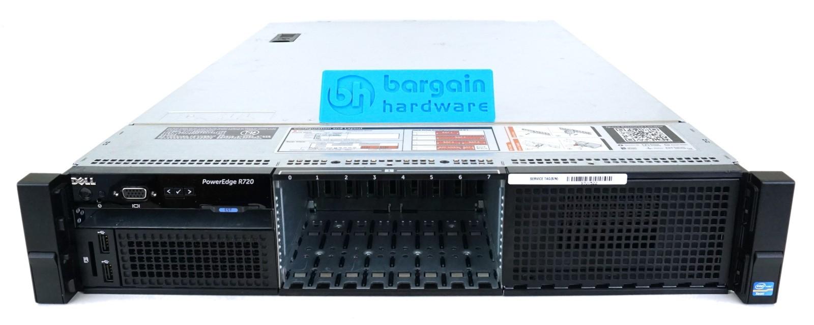 Dell PowerEdge R720 (2U) 8x 2 5 (SFF)