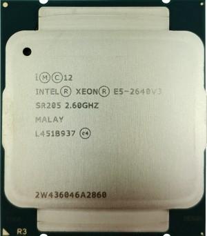Intel Xeon E5-2640 V3 (SR205) 2.60Ghz Octa (8) Core FCLGA2011-3 90W CPU