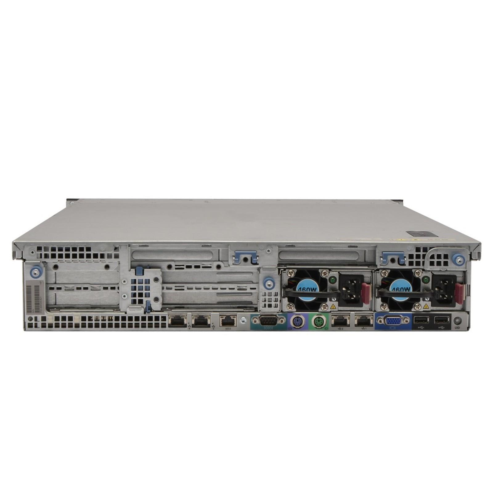 HP ProLiant DL380 G6 2U 8x 2 5 (SFF)